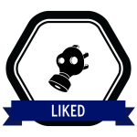 """Badge icon """"Gas Mask (4641)"""" provided by Monika Ciapala, from The Noun Project under Creative Commons - Attribution (CC BY 3.0)"""