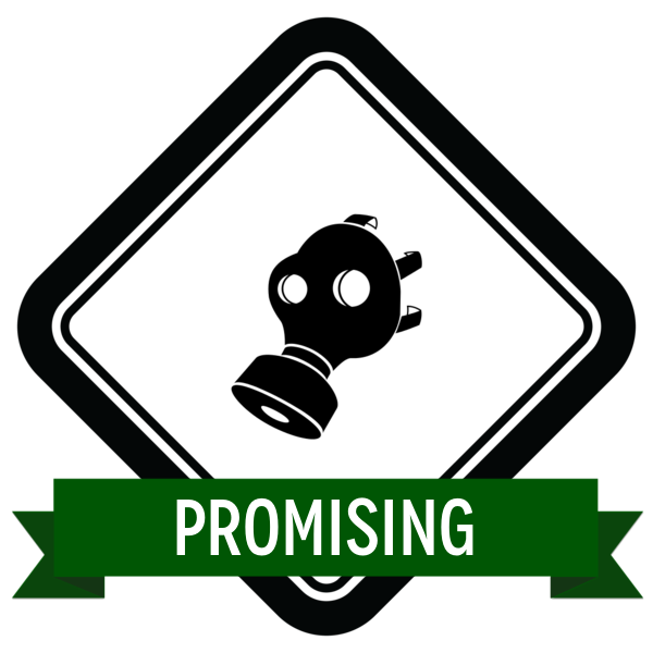 "Badge icon ""Gas Mask (4641)"" provided by Monika Ciapala, from The Noun Project under Creative Commons - Attribution (CC BY 3.0)"
